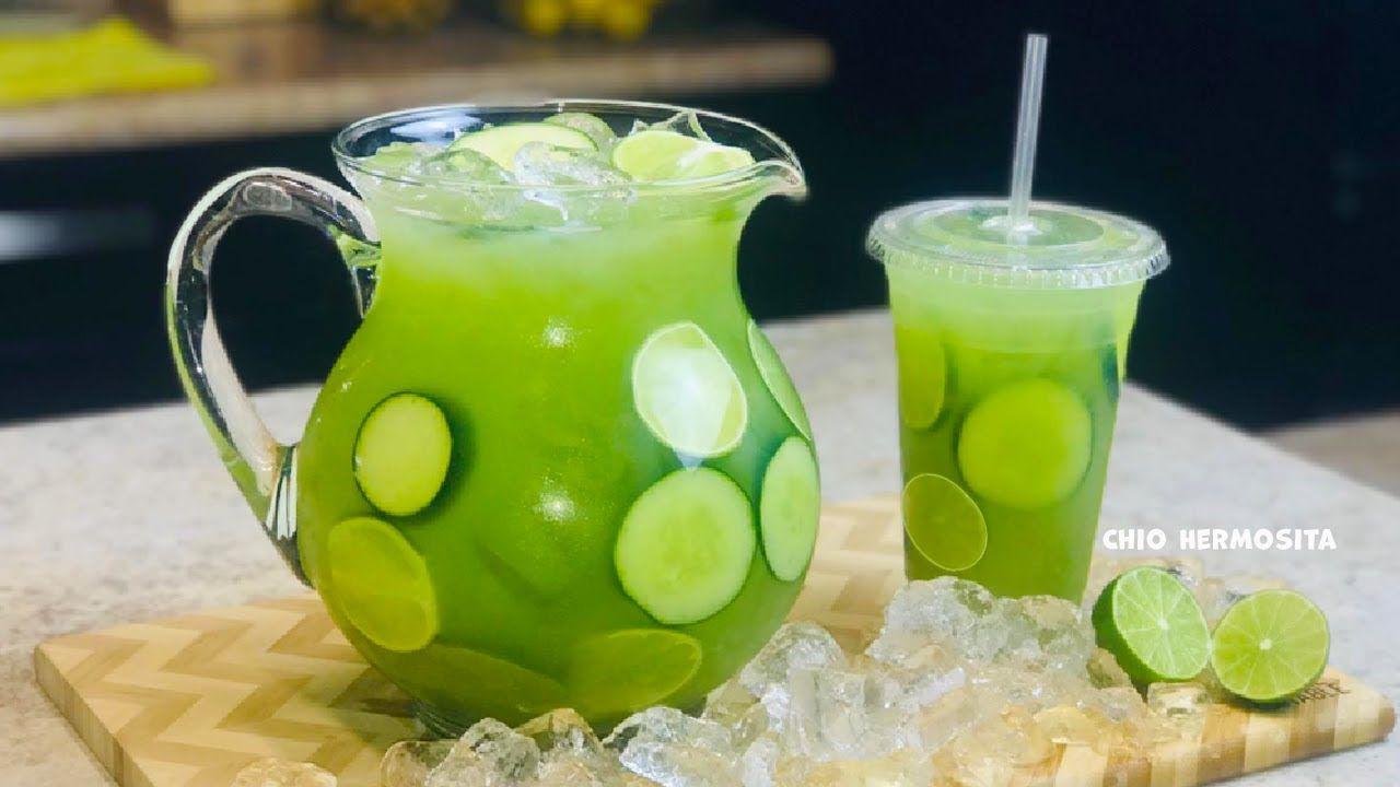 Grüne Eistee Bowle, alkoholfrei !