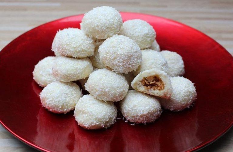 Kokosschneebällchen